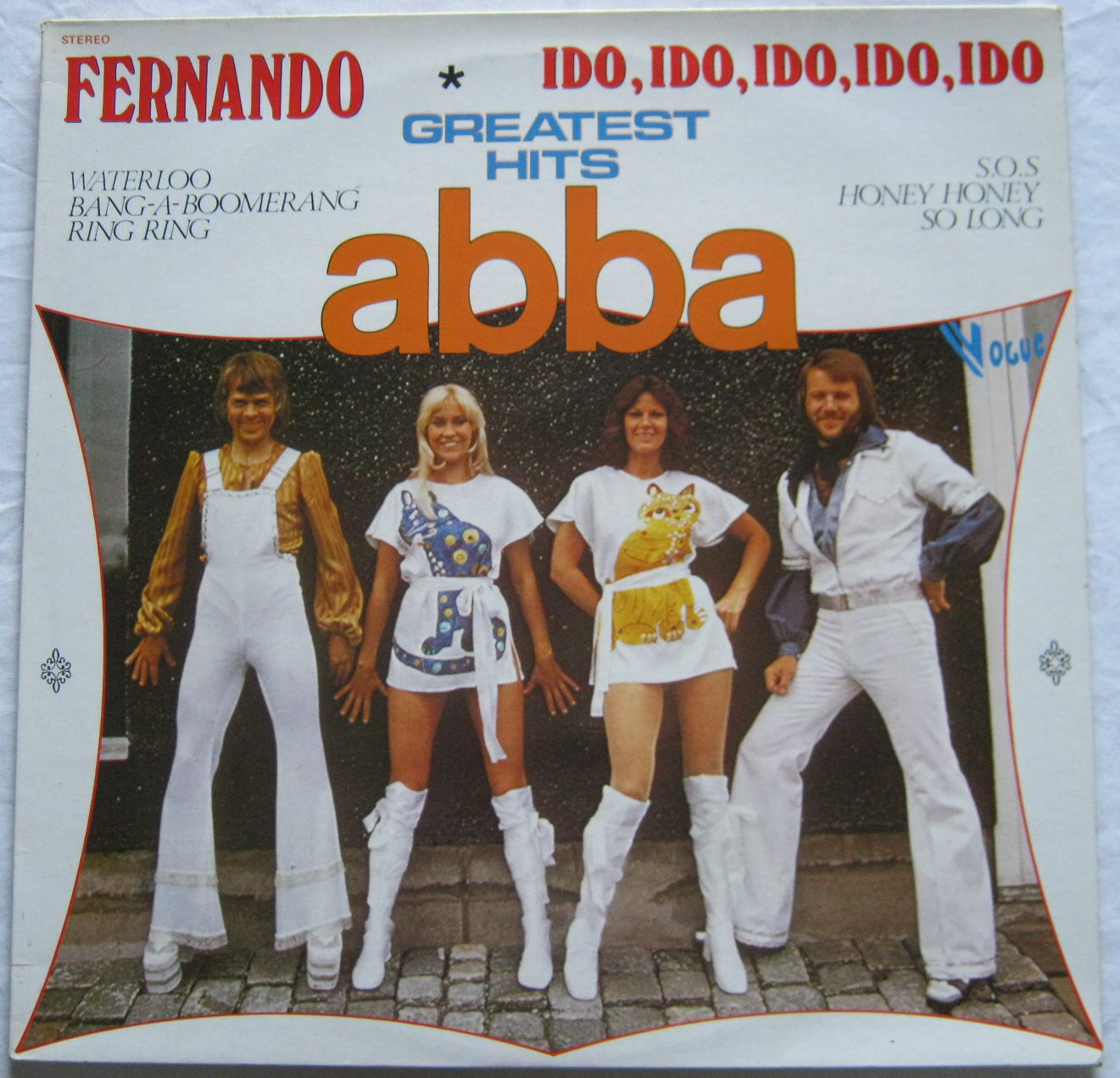 Totally Vinyl Records Abba Greatest Hits Lp Vinyl