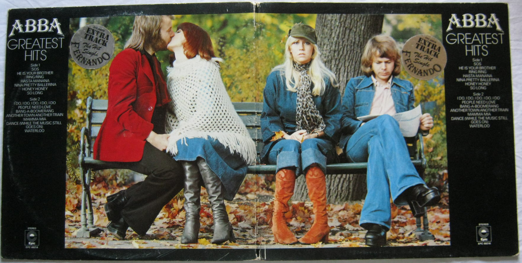 Totally Vinyl Records Abba Greatest Hits Lp Vinyl