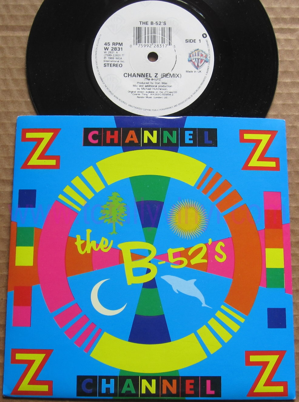 The B-52's Channel Z