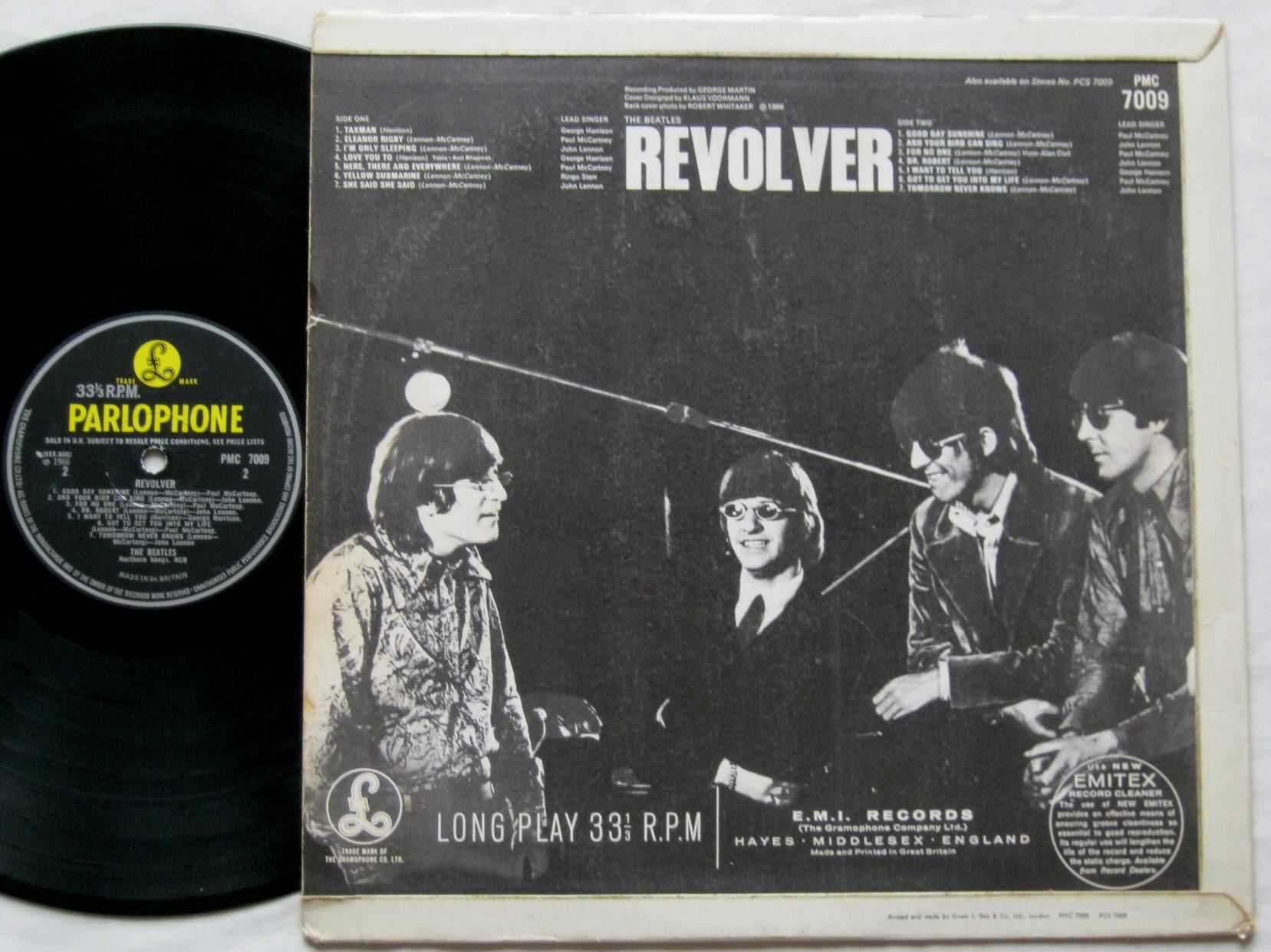 Totally Vinyl Records Beatles The Revolver Lp Vinyl