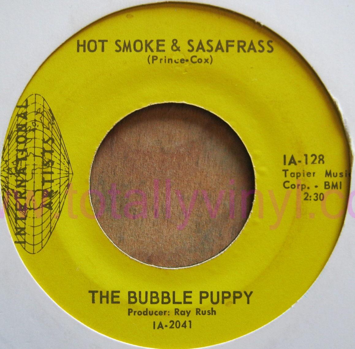 Totally Vinyl Records Bubble Puppy The Hot Smoke