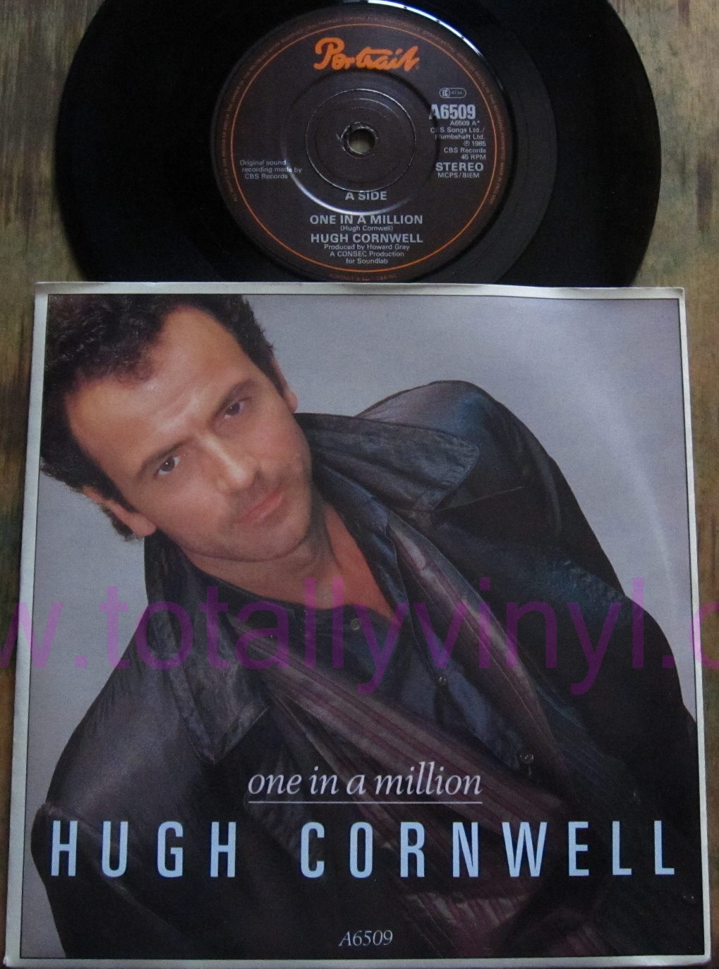 Totally Vinyl Records Cornwell Hugh One In A Million
