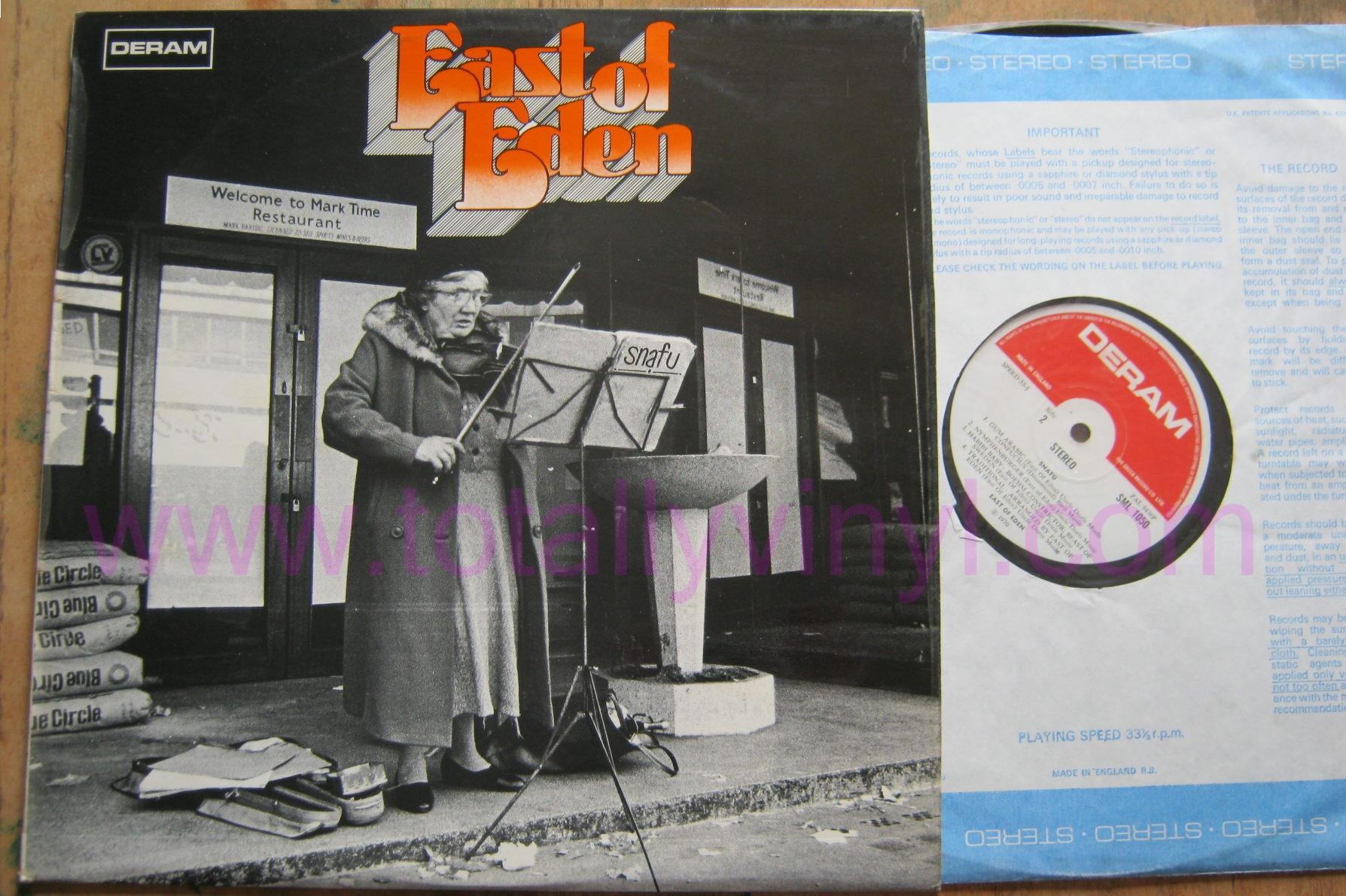 Totally Vinyl Records East Of Eden Snafu Lp Vinyl