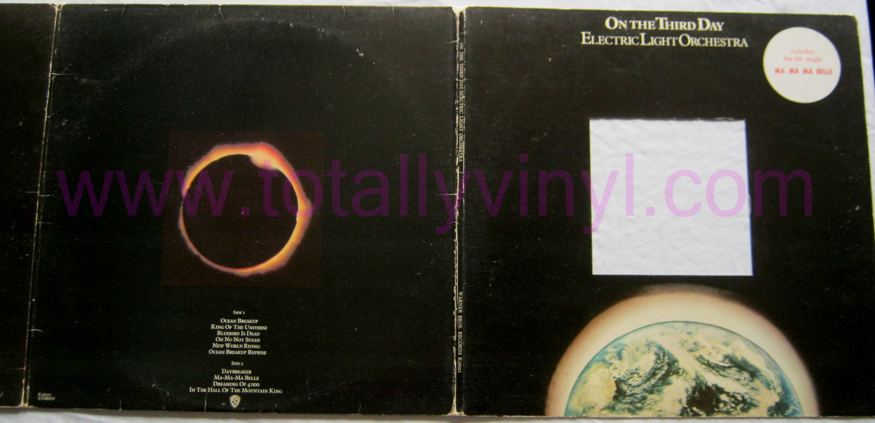Totally Vinyl Records Electric Light Orchestra On The