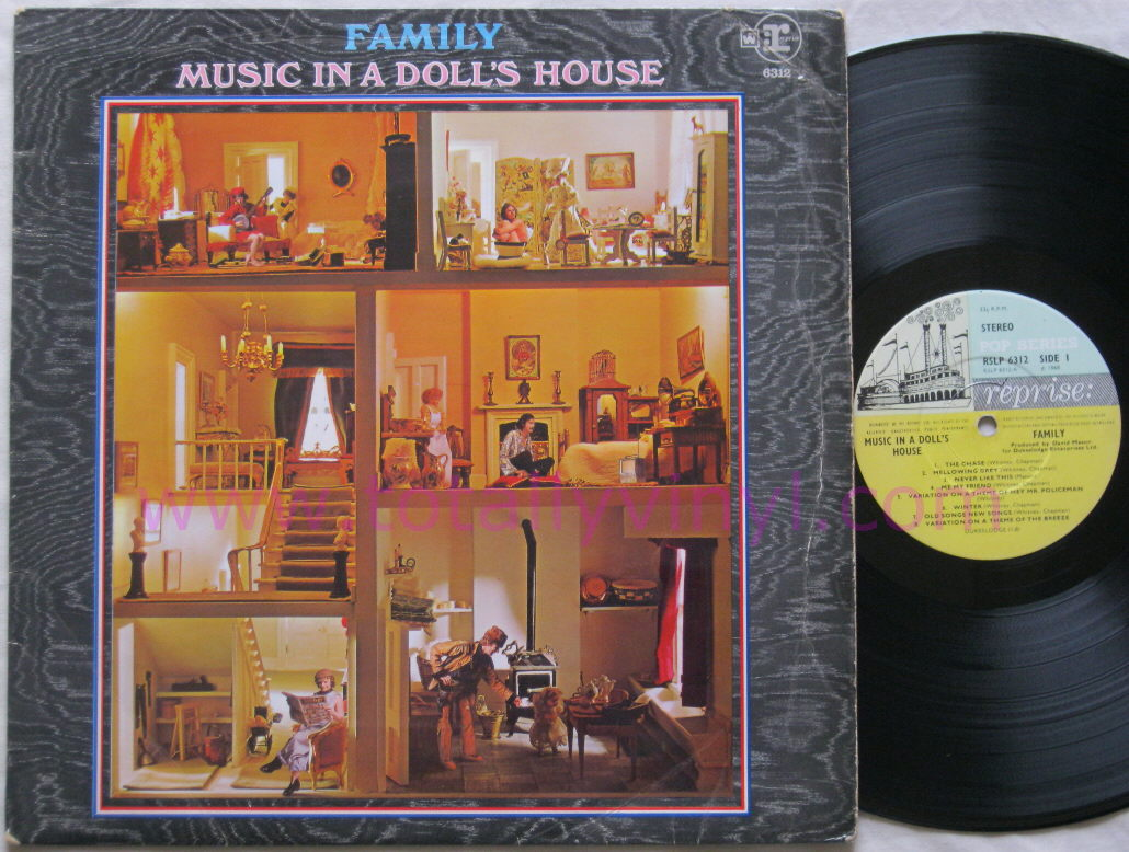 Totally vinyl records family music in a doll 39 s house for House music vinyl