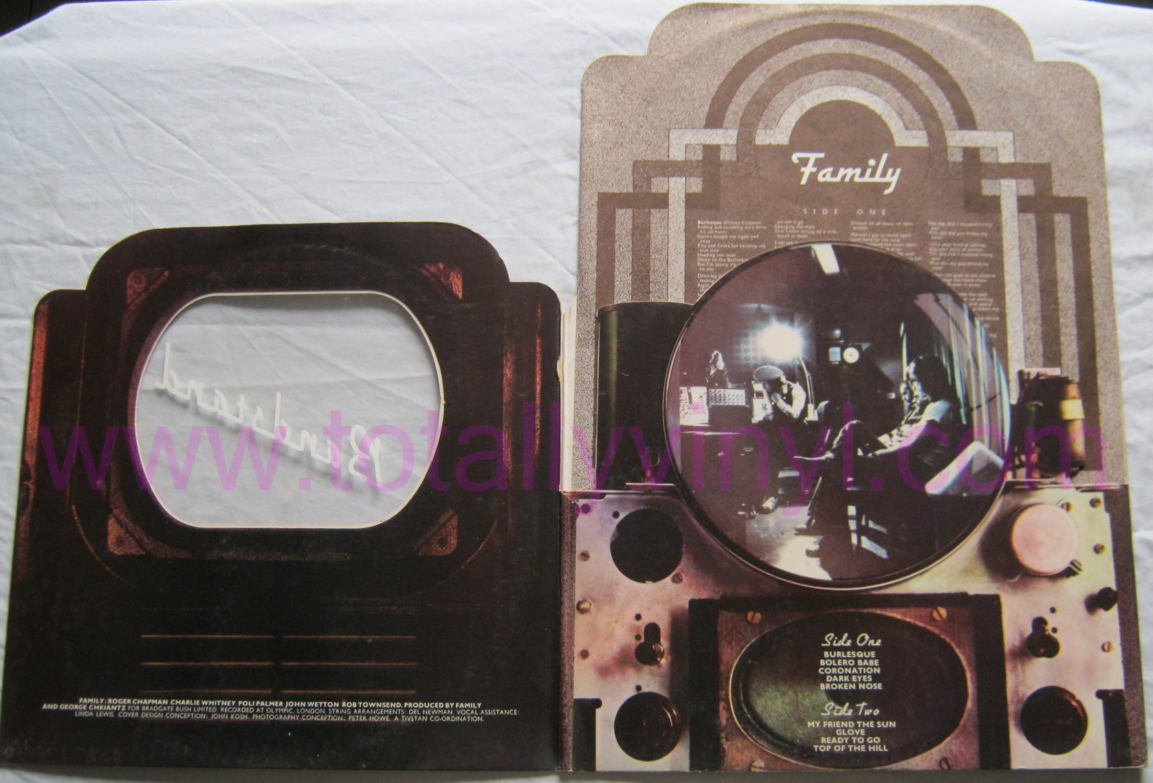 Totally Vinyl Records Family Bandstand Lp Vinyl