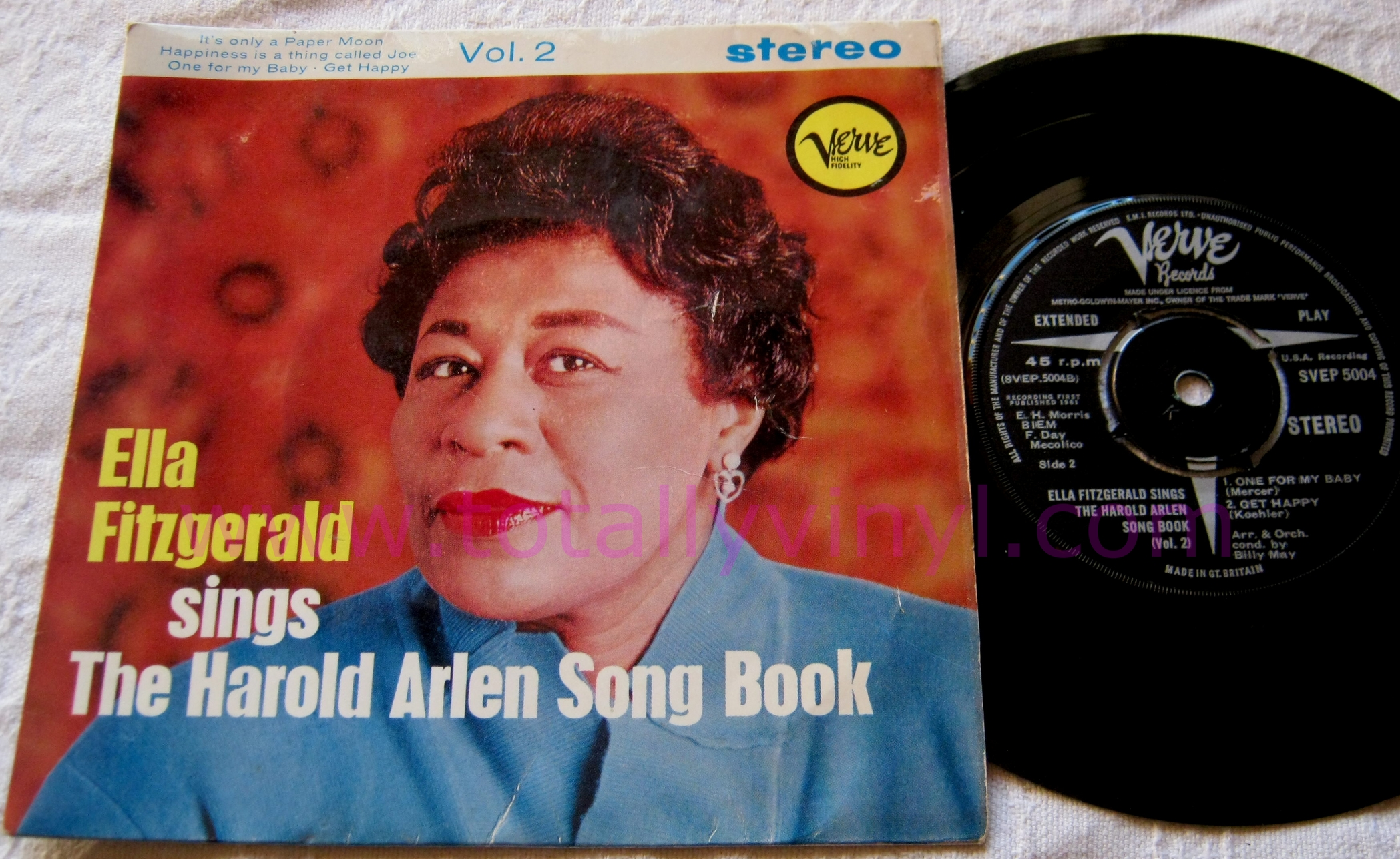 Totally Vinyl Records Fitzgerald Ella Sings The