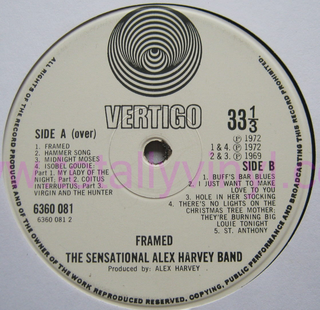 alex harvey band hammer song