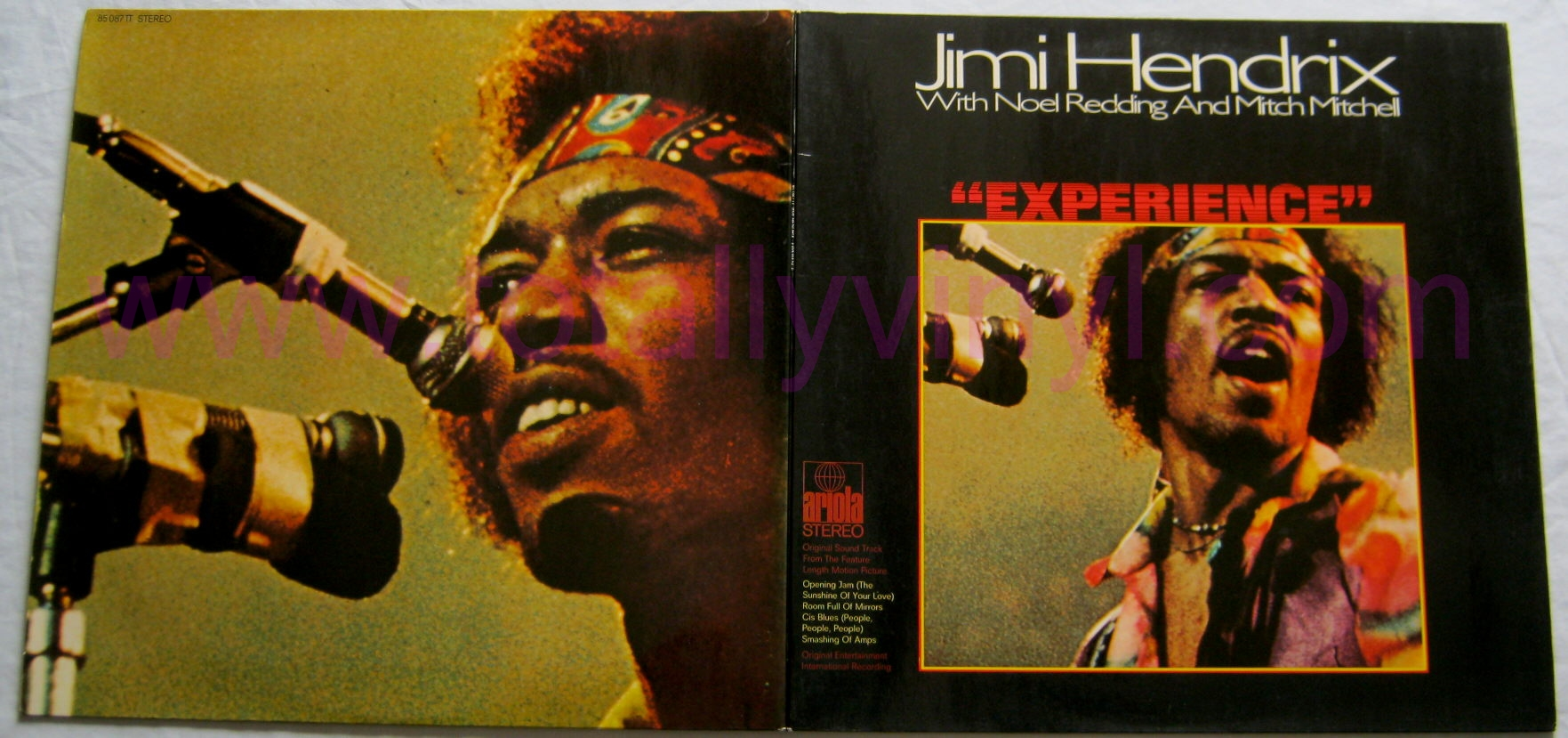 totally vinyl records hendrix jimi experience lp vinyl. Black Bedroom Furniture Sets. Home Design Ideas