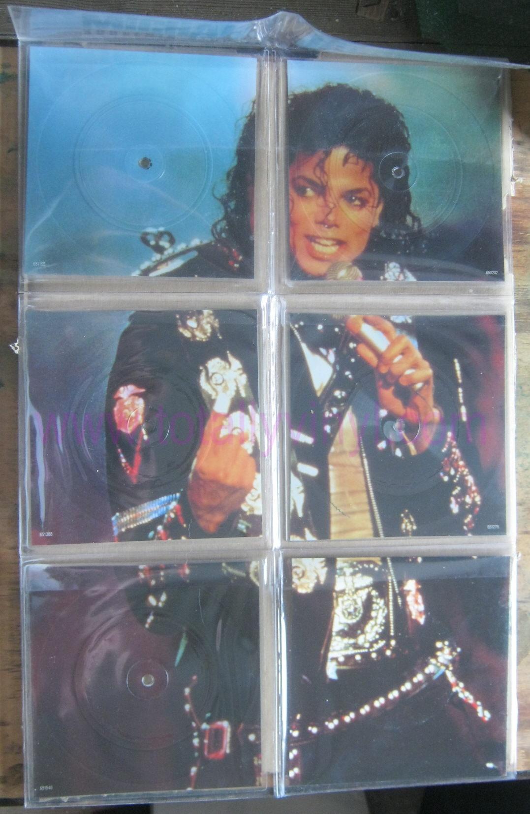 Totally Vinyl Records Jackson Michael Bad Souvenir