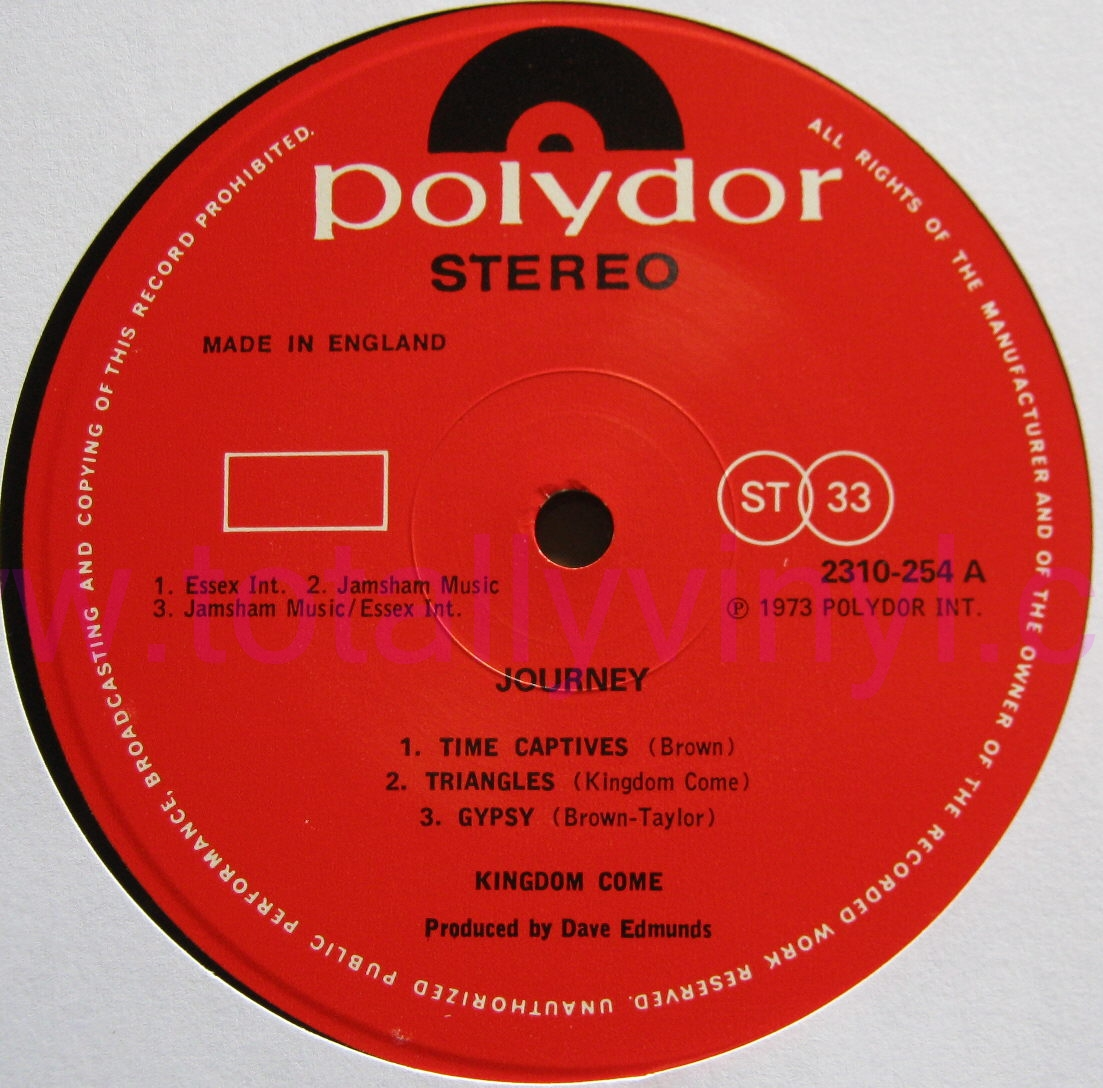Totally Vinyl Records Kingdom Come Journey Lp Vinyl