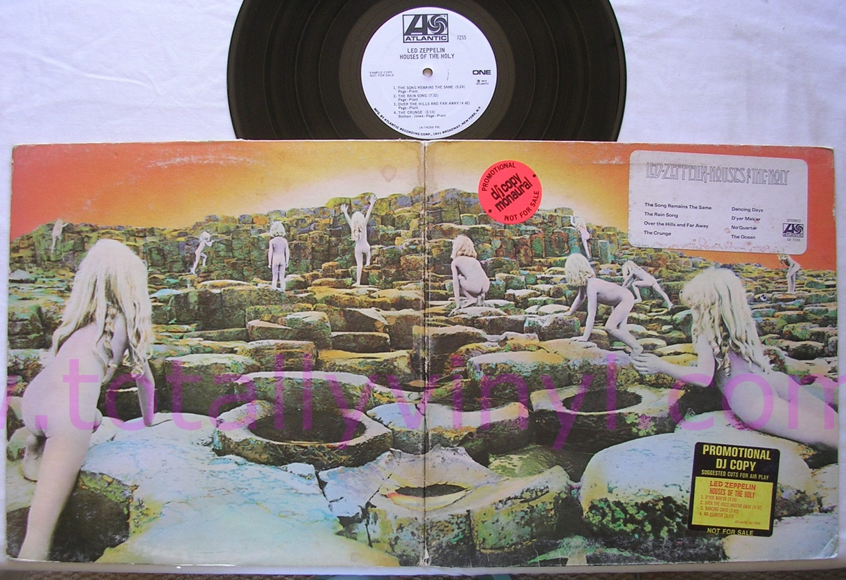 Totally Vinyl Records Led Zeppelin Houses Of The Holy