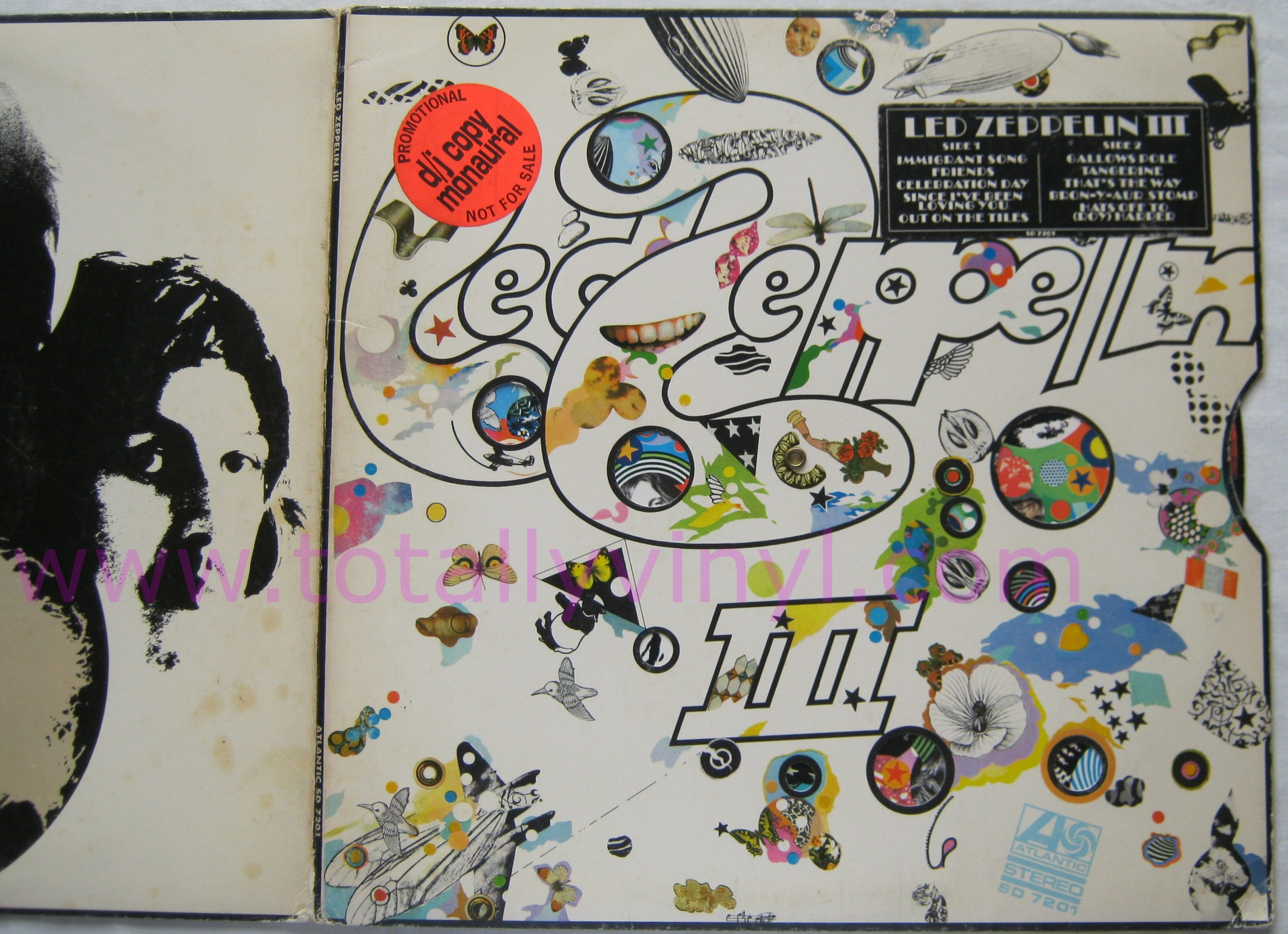 Totally Vinyl Records Led Zeppelin Led Zeppelin Iii