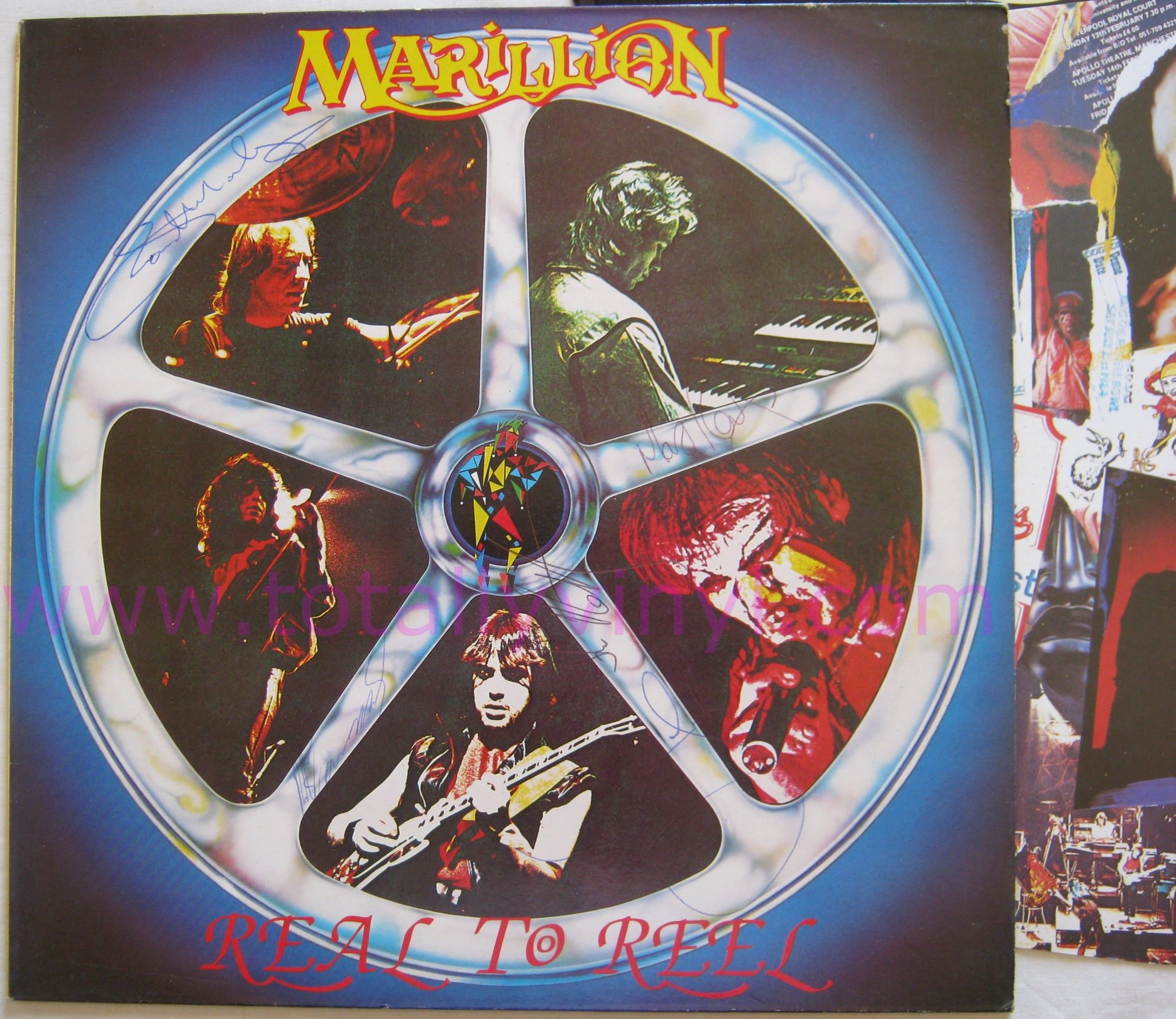Totally Vinyl Records Marillion Real To Reel