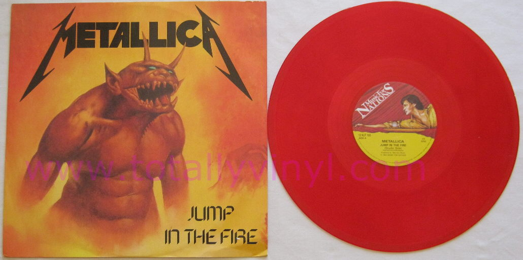 Metallica Jump In The Fire Totally Vinyl R...