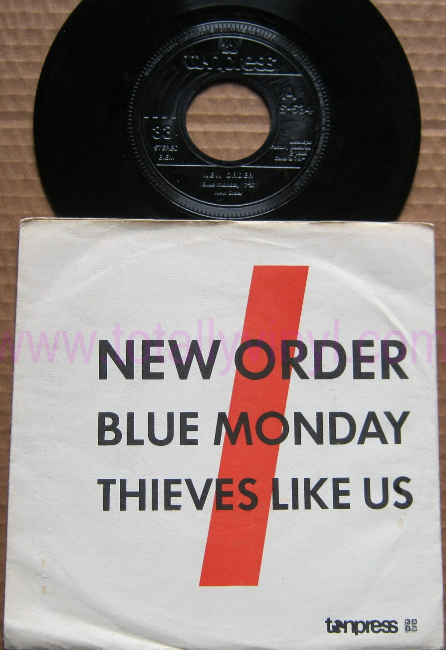 Totally Vinyl Records || New Order - Blue monday 7 Inch