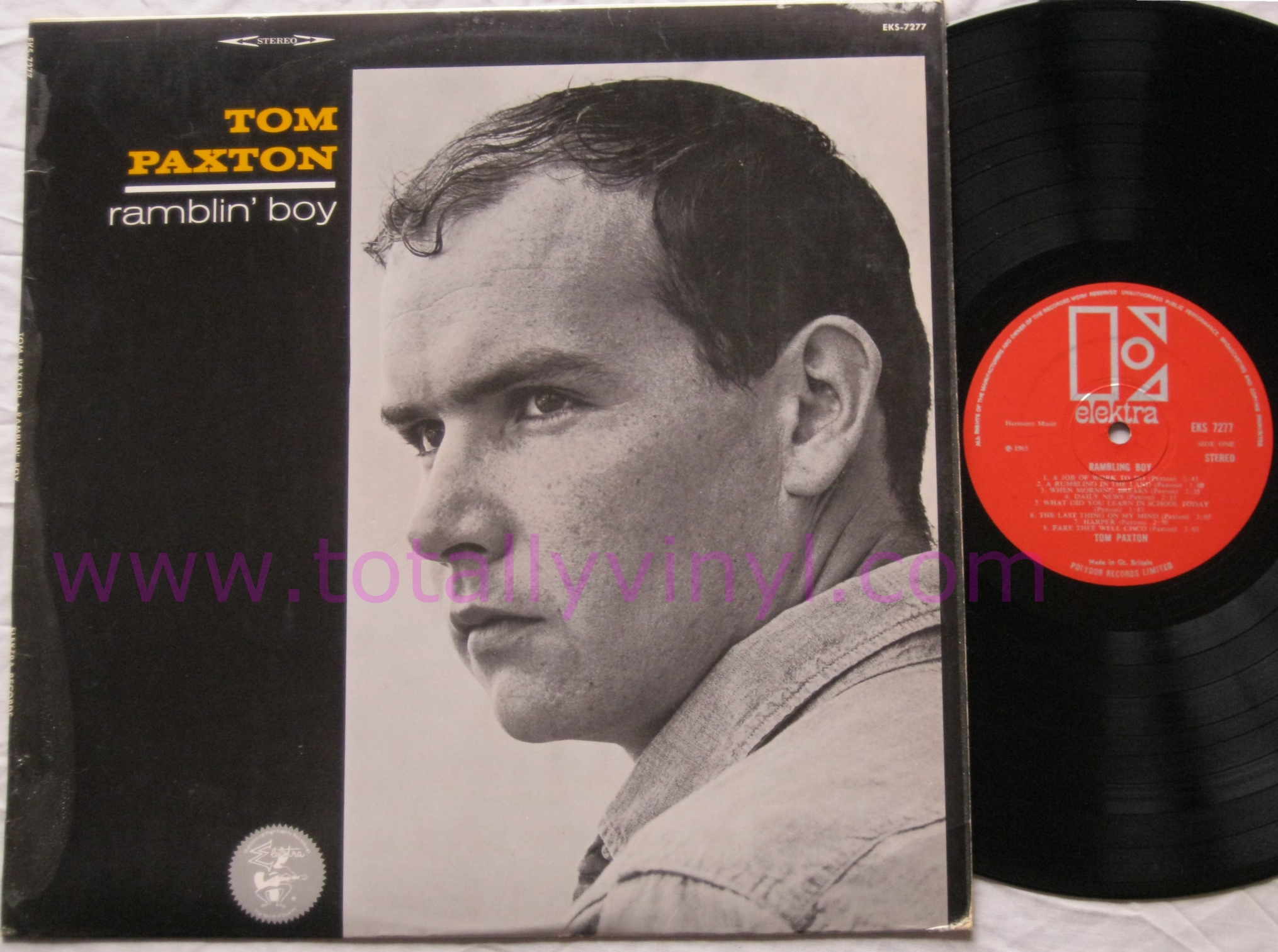 Totally Vinyl Records Paxton Tom Ramblin Boy Lp Vinyl