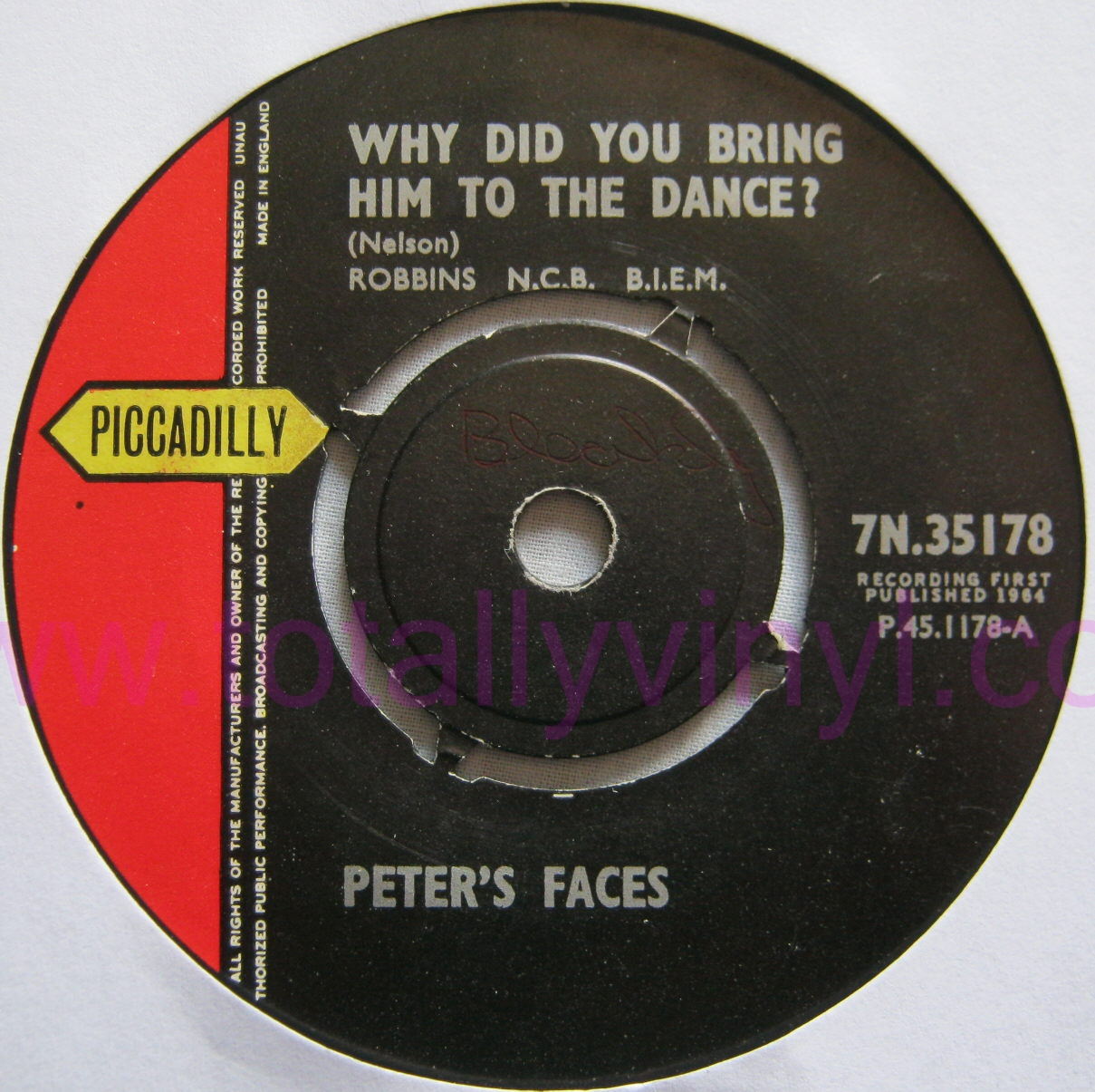 Totally Vinyl Records Peter S Faces Why Did You Have