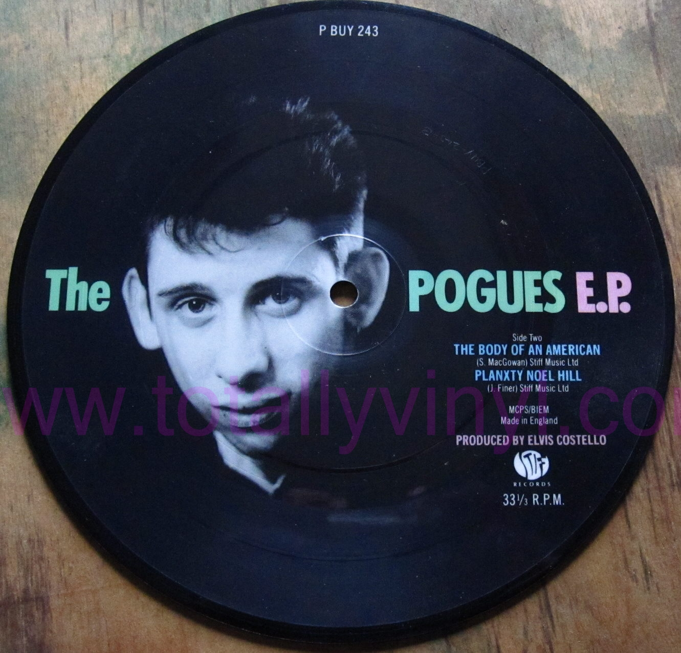 Totally Vinyl Records Pogues The Poguetry In Motion