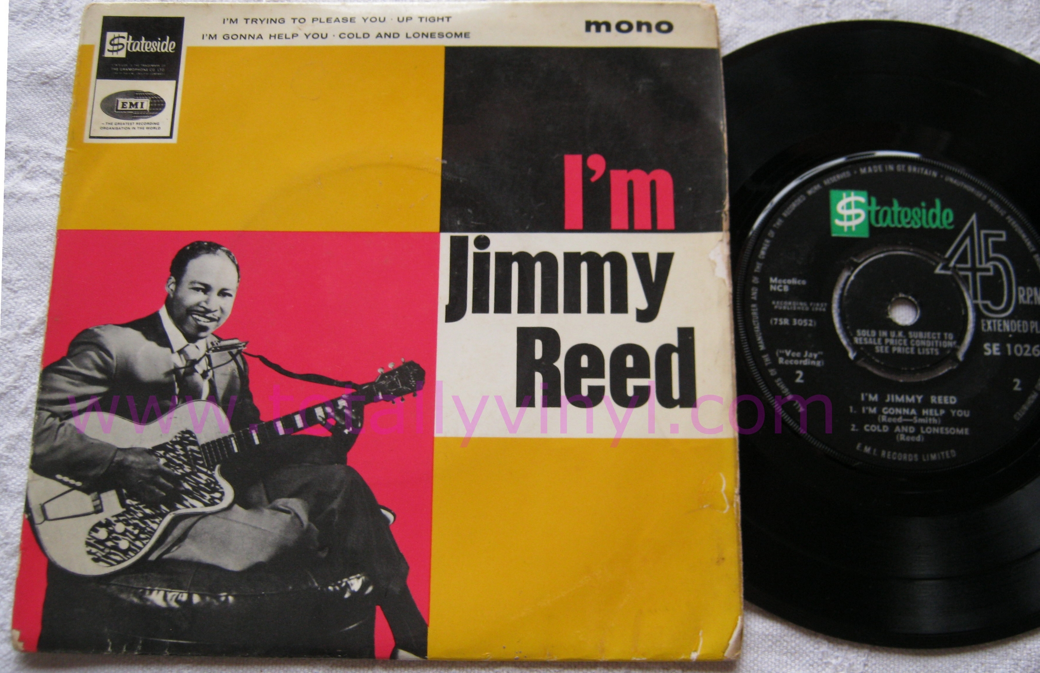 Totally Vinyl Records Reed Jimmy I M Jimmy Reed 7