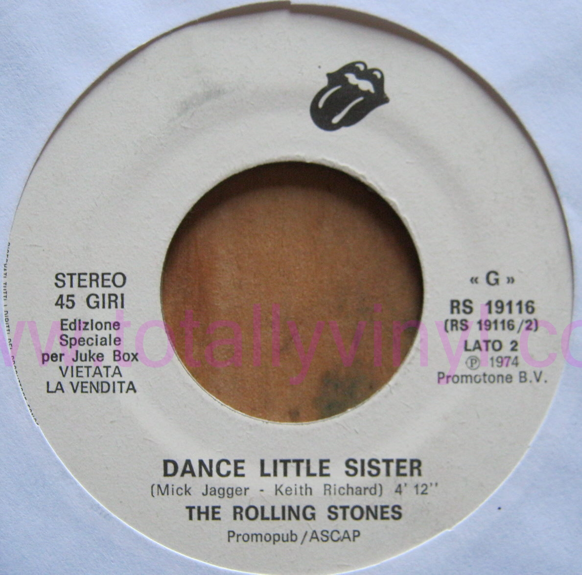 Totally Vinyl Records Rolling Stones Ain T Too Proud