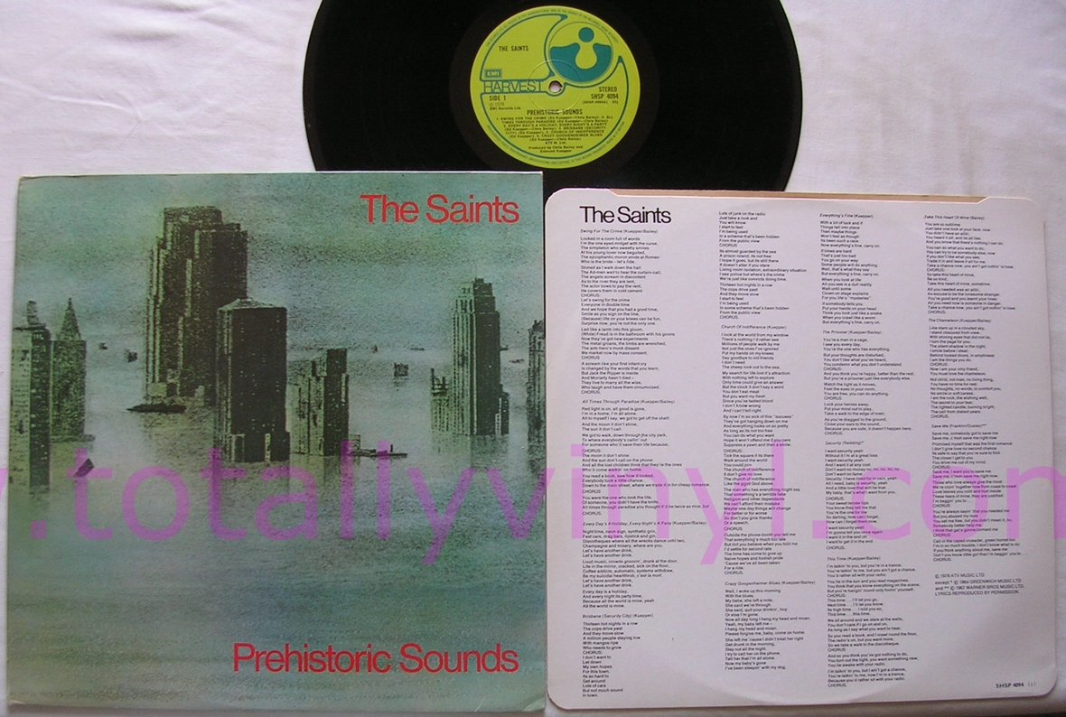 Totally Vinyl Records Saints The Prehistoric Sounds