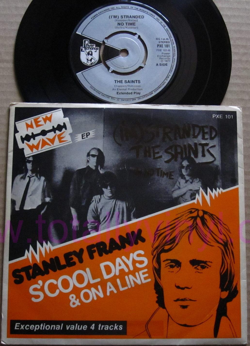 Totally Vinyl Records Saints The I M Stranded No