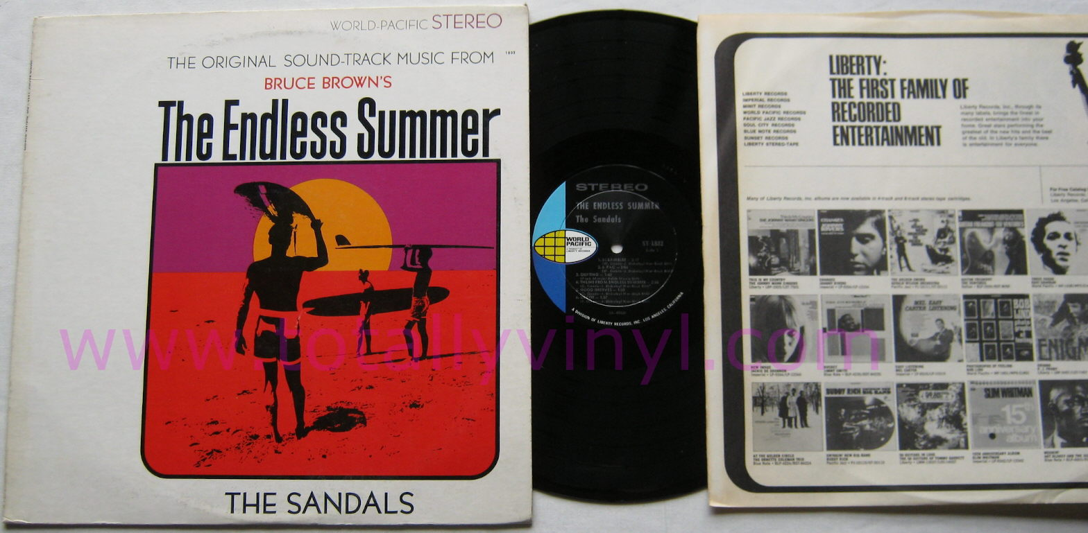 Totally Vinyl Records Sandals The Endless Summer