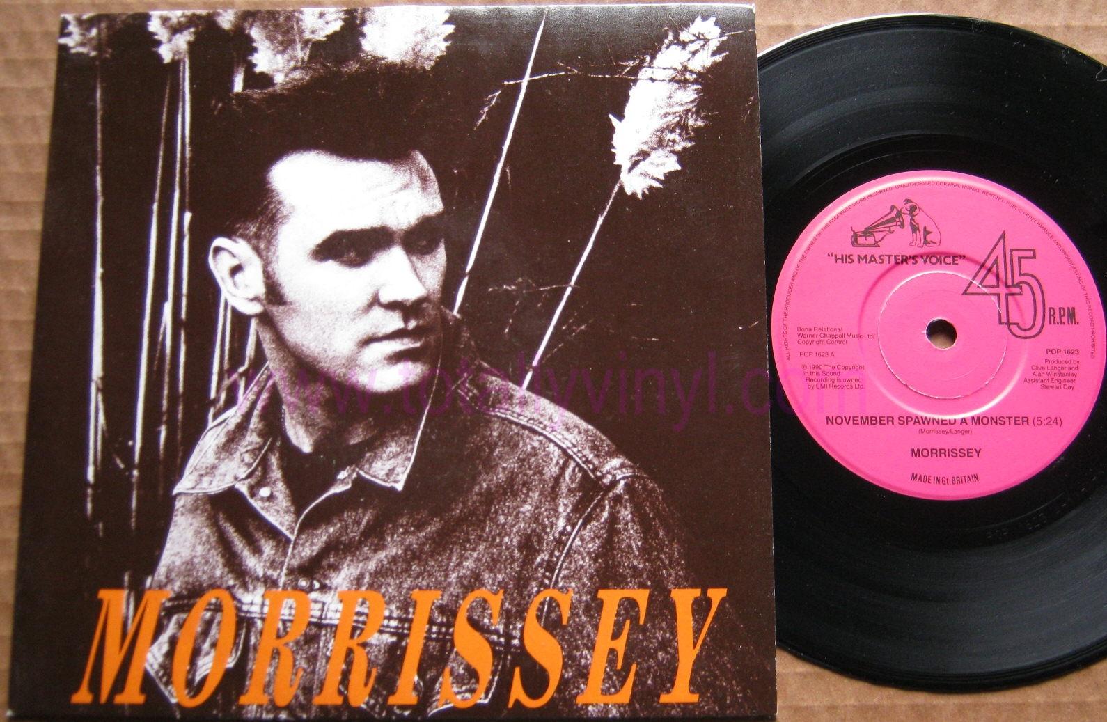Totally Vinyl Records Morrissey November Spawned A