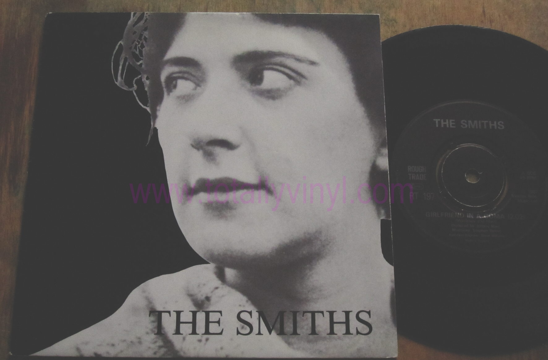 Totally Vinyl Records Smiths The Girlfriend In A