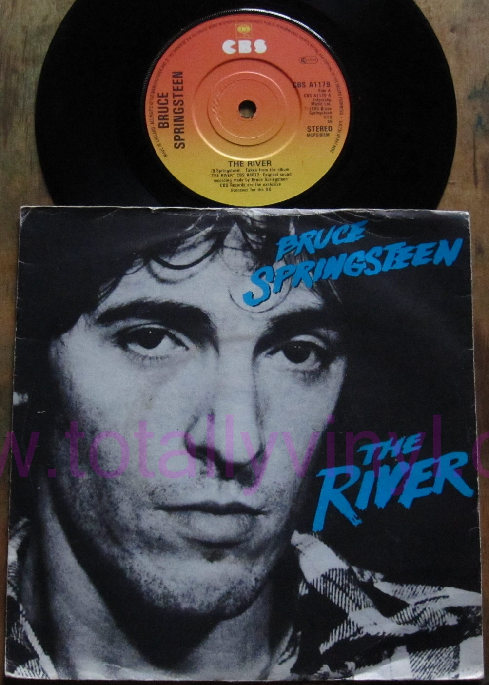 Totally Vinyl Records Springsteen Bruce The River 7
