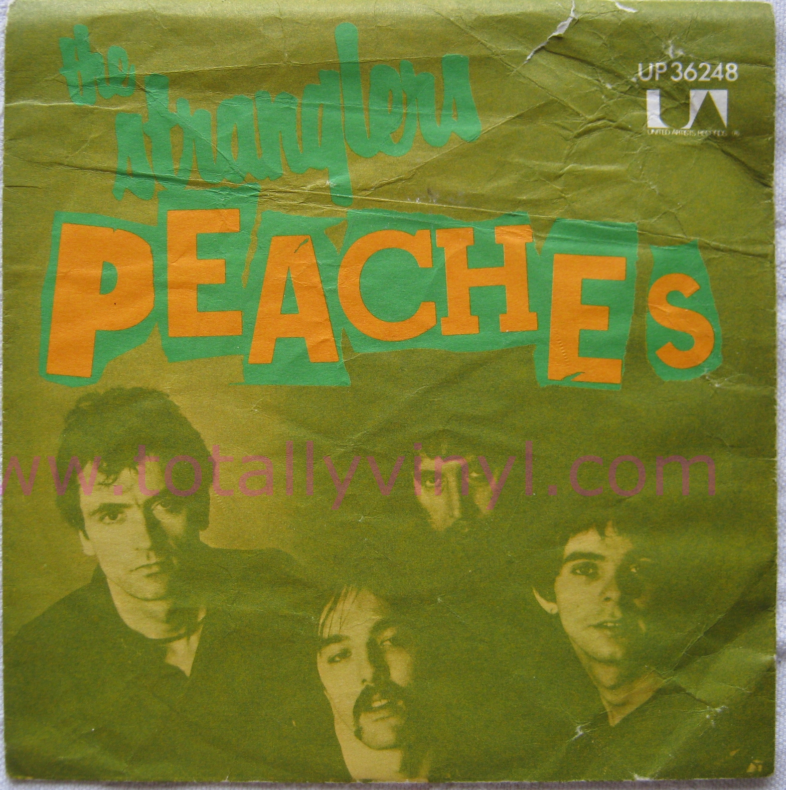 Totally Vinyl Records Stranglers The Peaches 7 Inch
