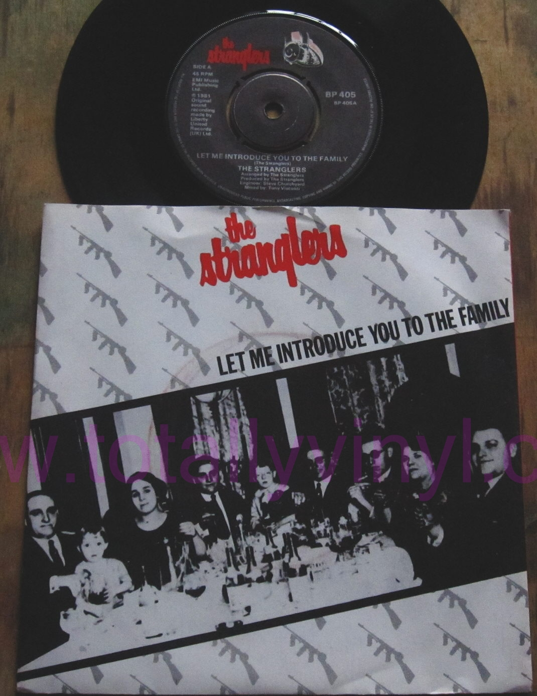 Totally Vinyl Records Stranglers The Let Me