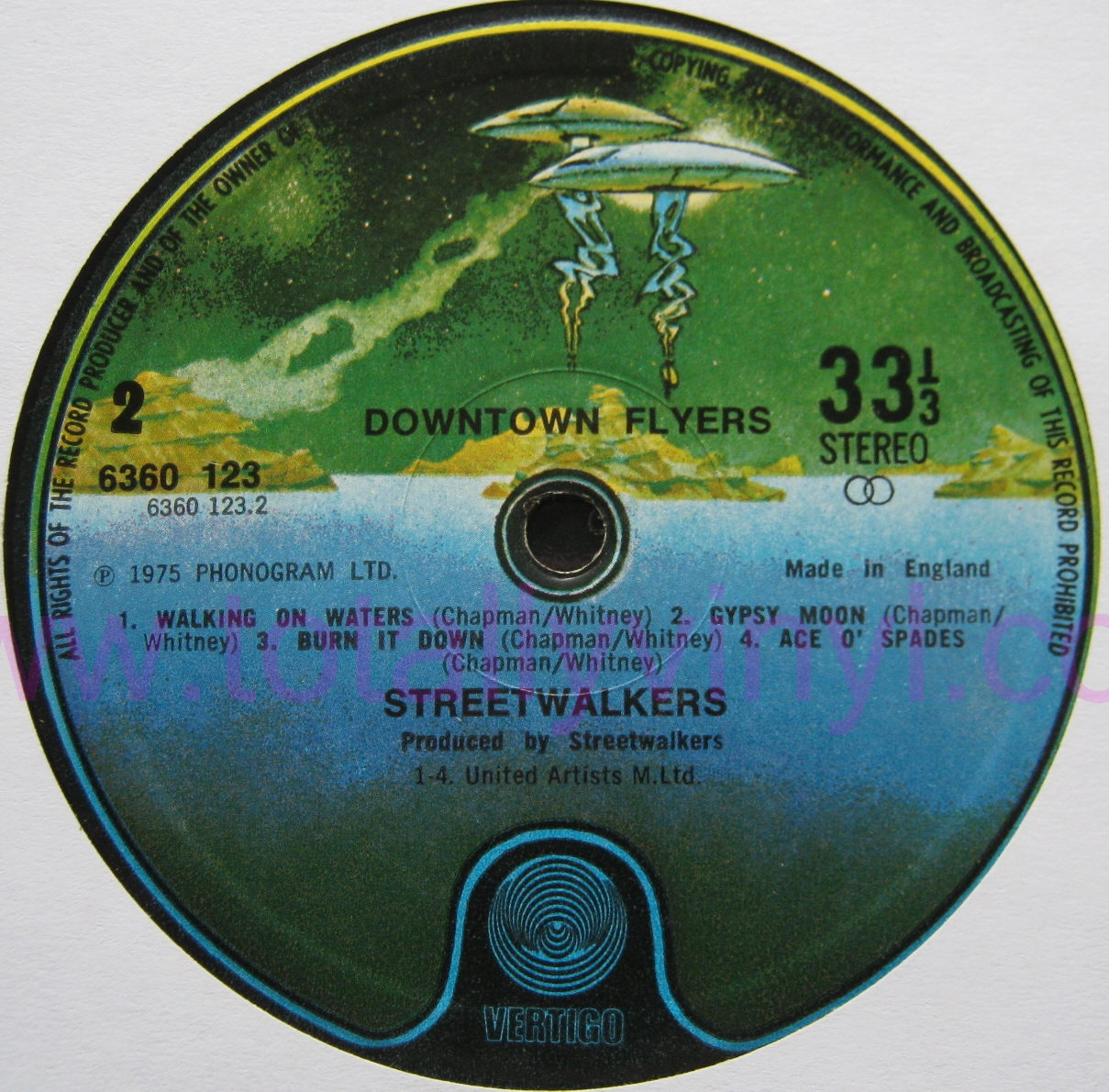 Totally Vinyl Records Streetwalkers Downtown Flyers