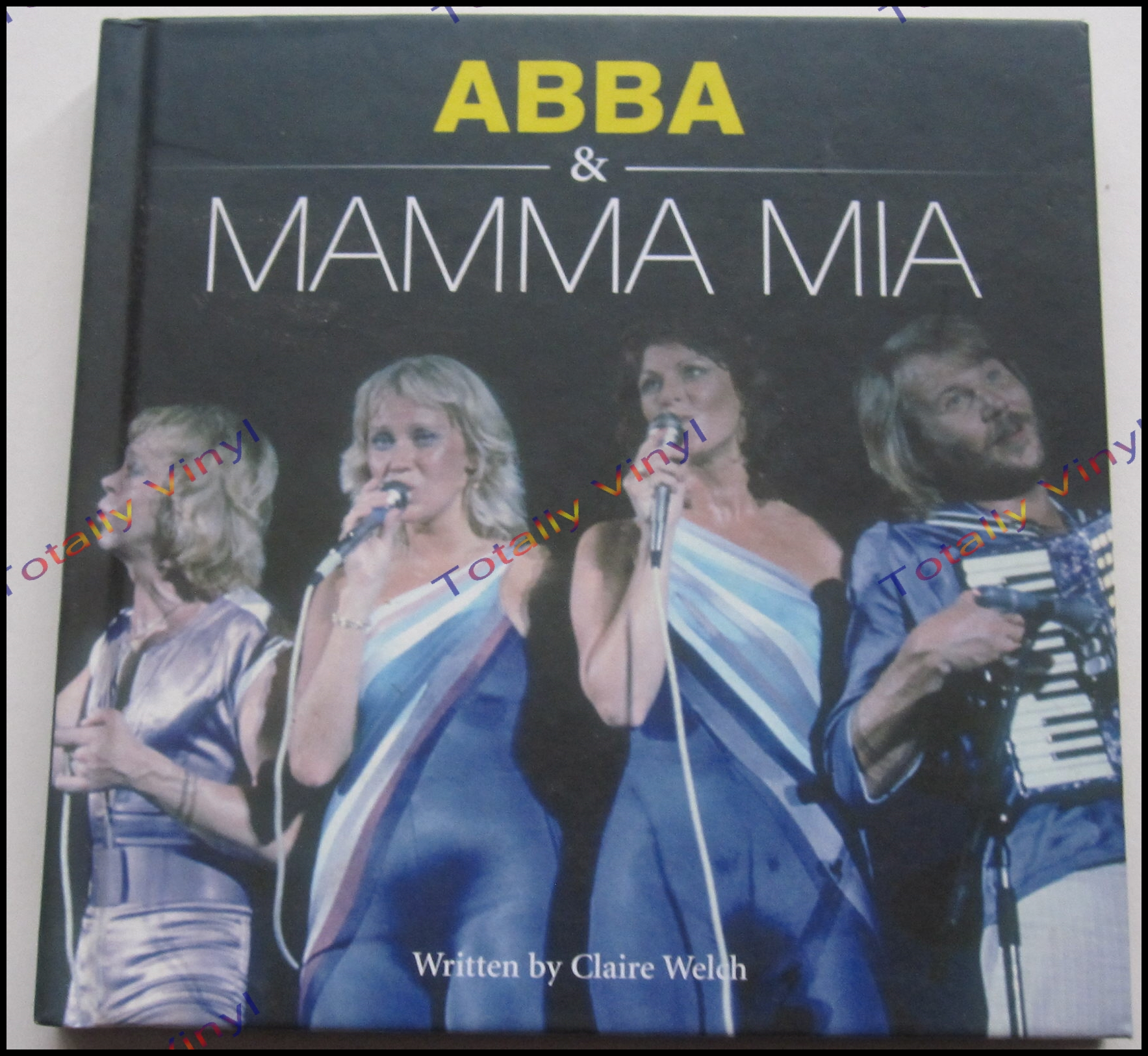 Totally Vinyl Records Abba Abba And Mamma Mia Book