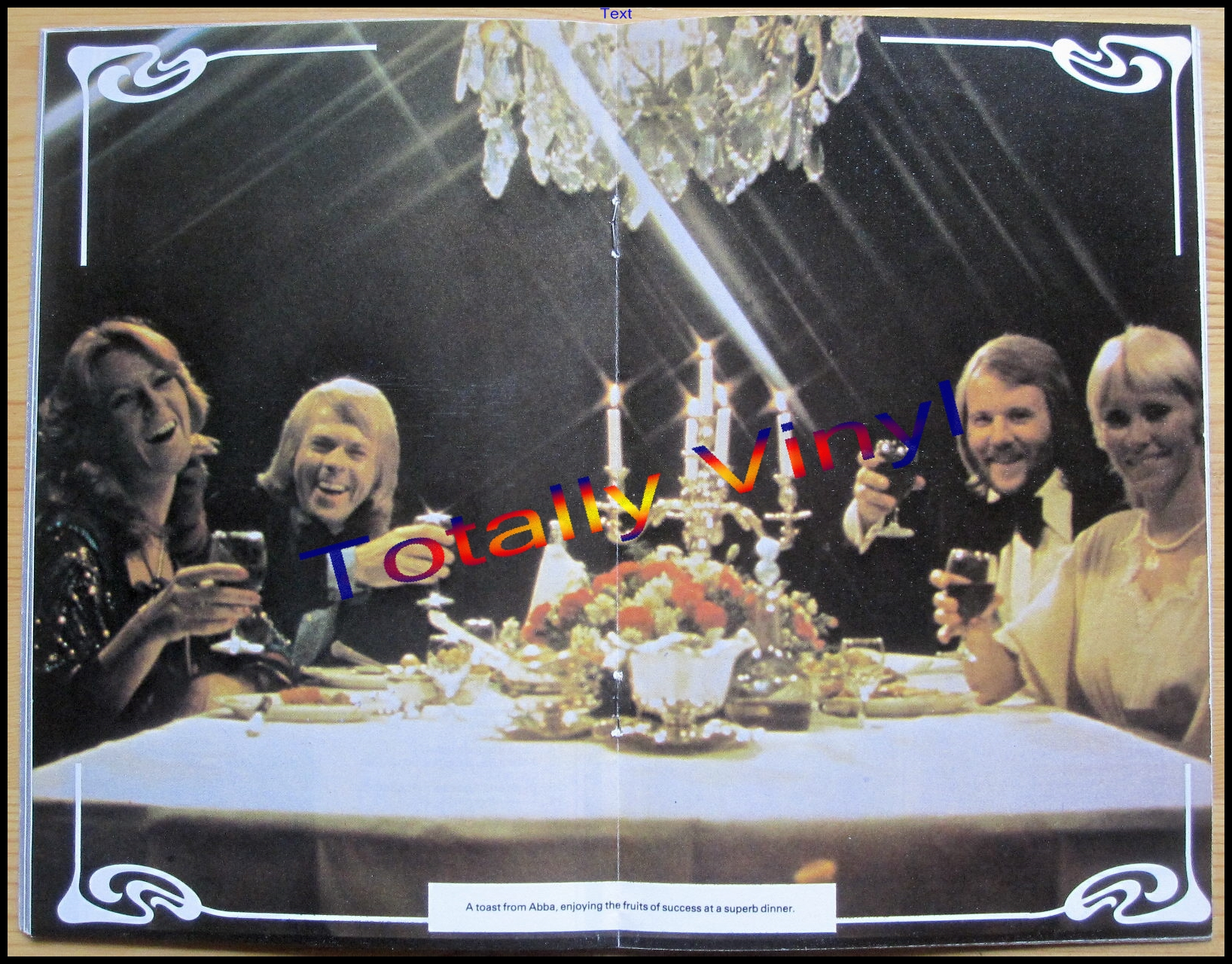 Totally Vinyl Records Abba Abba Magazine No 1