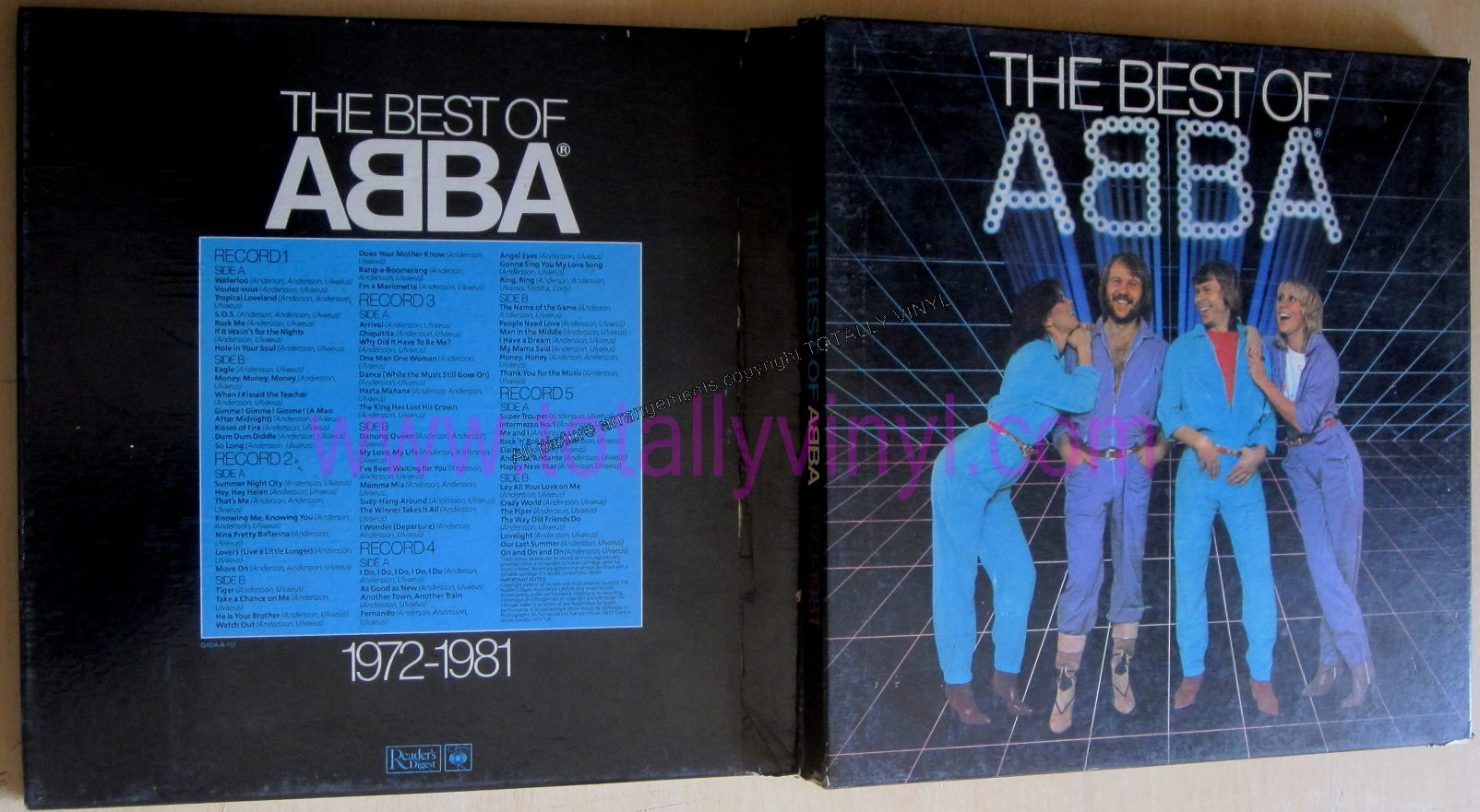 Totally Vinyl Records Abba The Best Of Abba 1972 1981