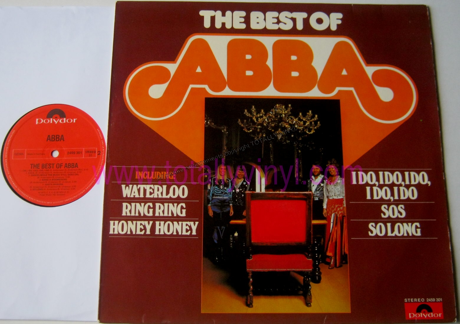 Totally Vinyl Records Abba The Best Of Abba Lp Vinyl