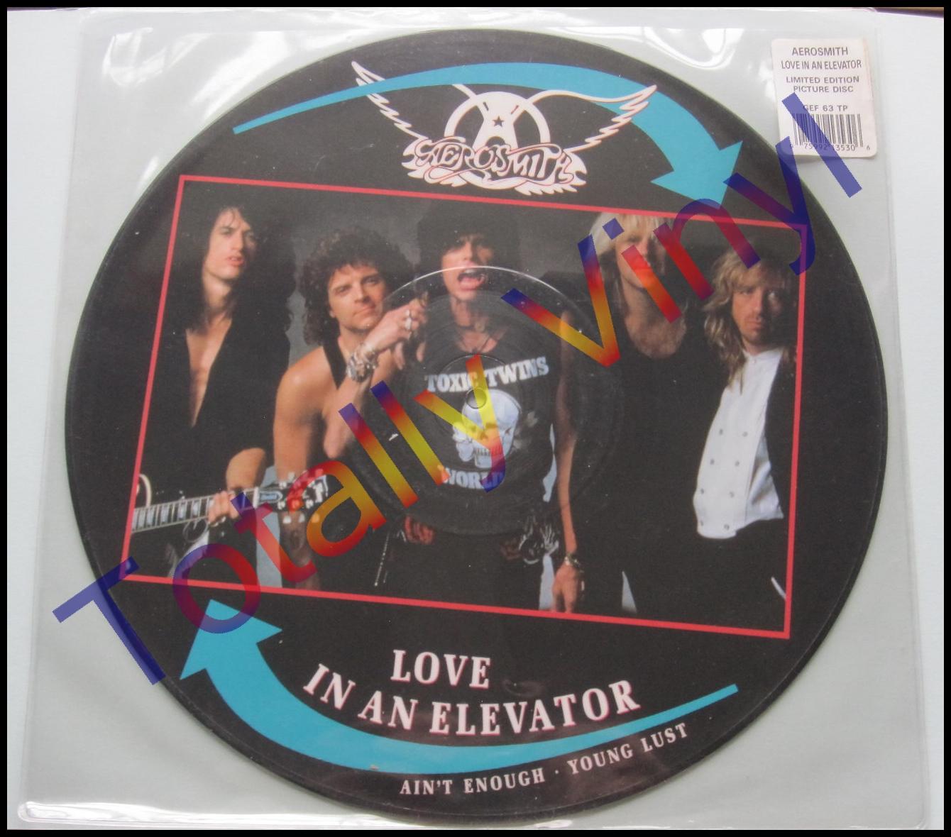 Totally Vinyl Records Aerosmith Love In An Elevator