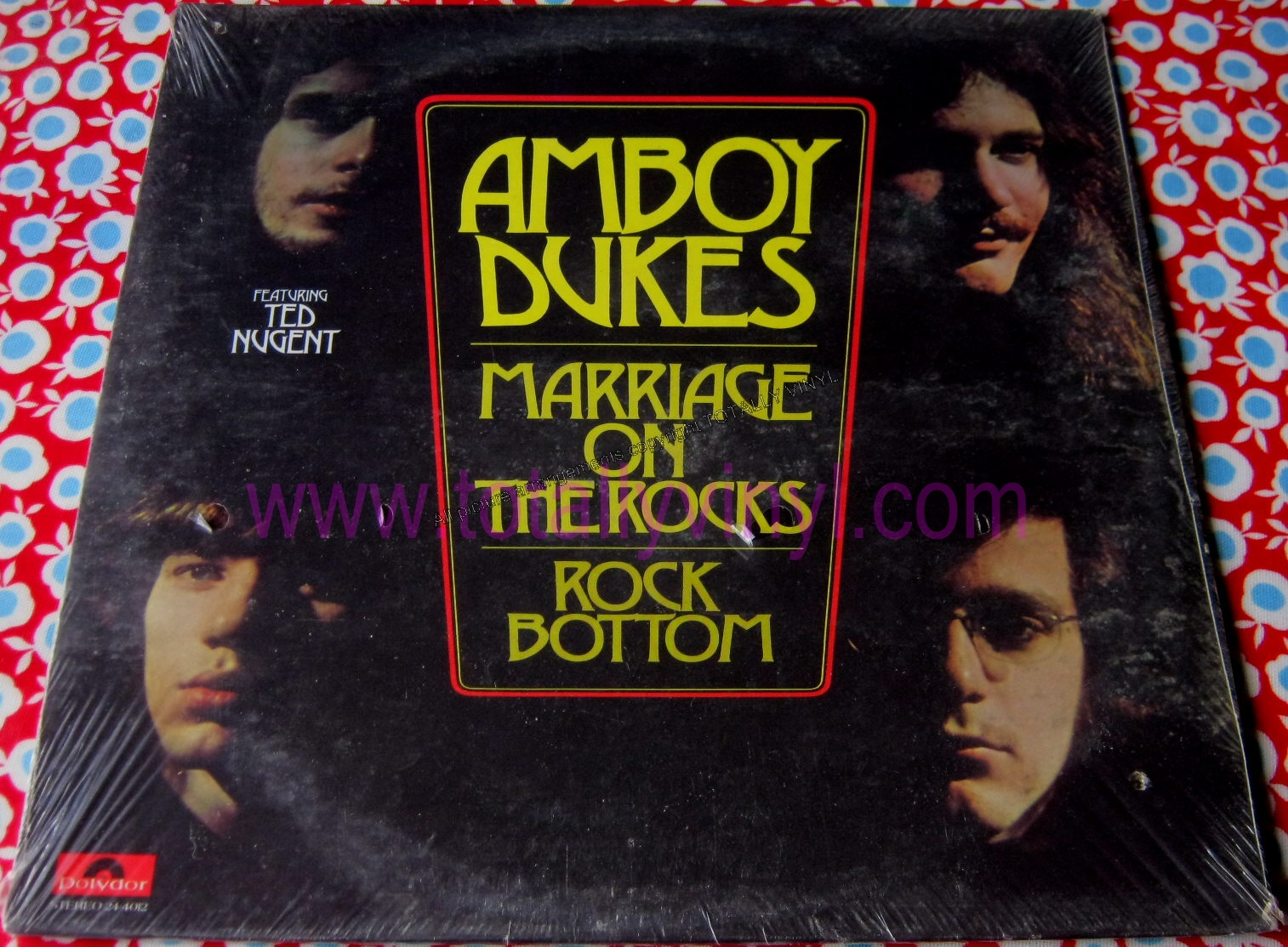 Totally Vinyl Records Amboy Dukes Marriage On The