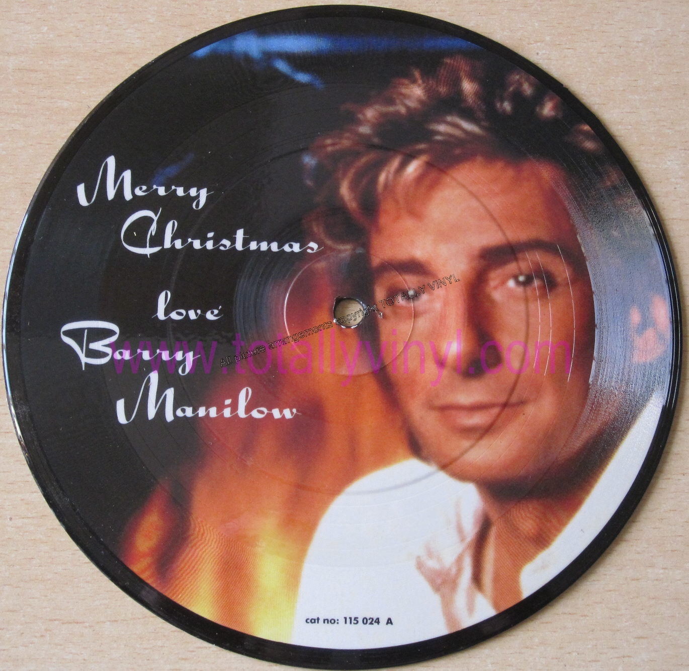 Totally Vinyl Records || Manilow, Barry - Jingle bells(with Expose ...
