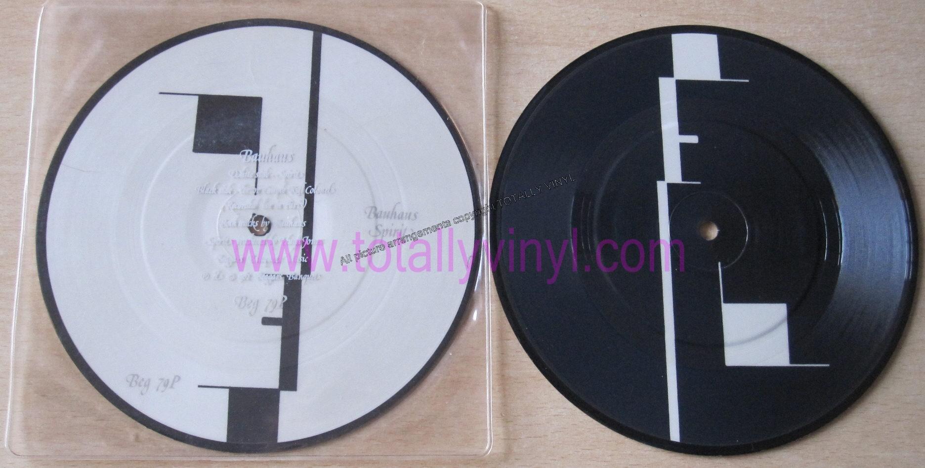 totally vinyl records bauhaus spirit 7 inch picture. Black Bedroom Furniture Sets. Home Design Ideas
