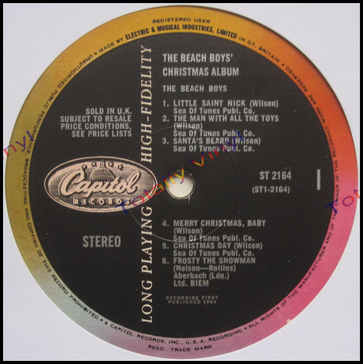 Totally Vinyl Records    Beach Boys, The - The Beach Boys ...
