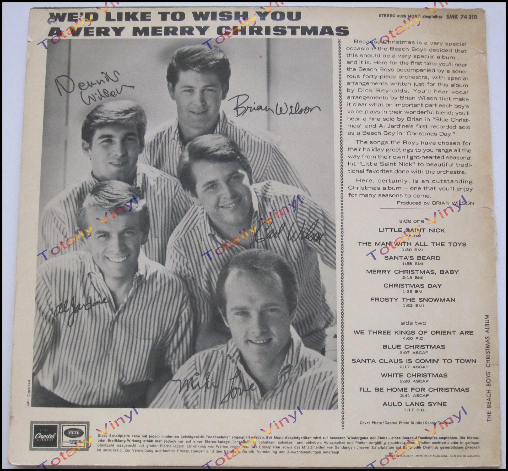 Totally Vinyl Records || Beach Boys, The - The Beach Boys ...