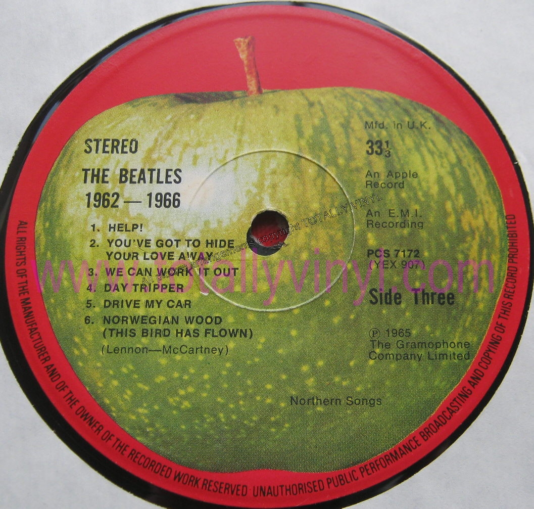 Totally Vinyl Records Beatles The The Beatles 1962