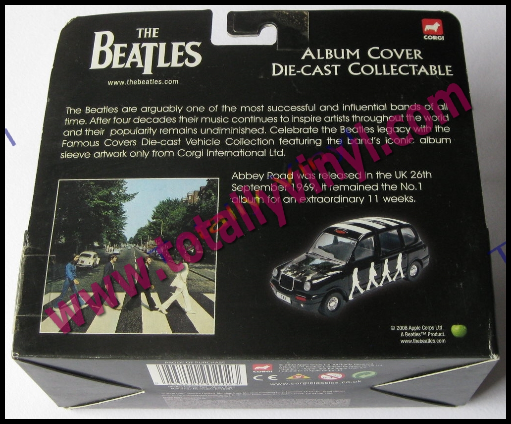 Totally Vinyl Records Beatles The Abbey Road Album Cover Die