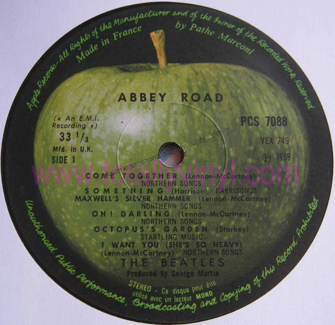 Totally Vinyl Records Beatles The Abbey Road Lp