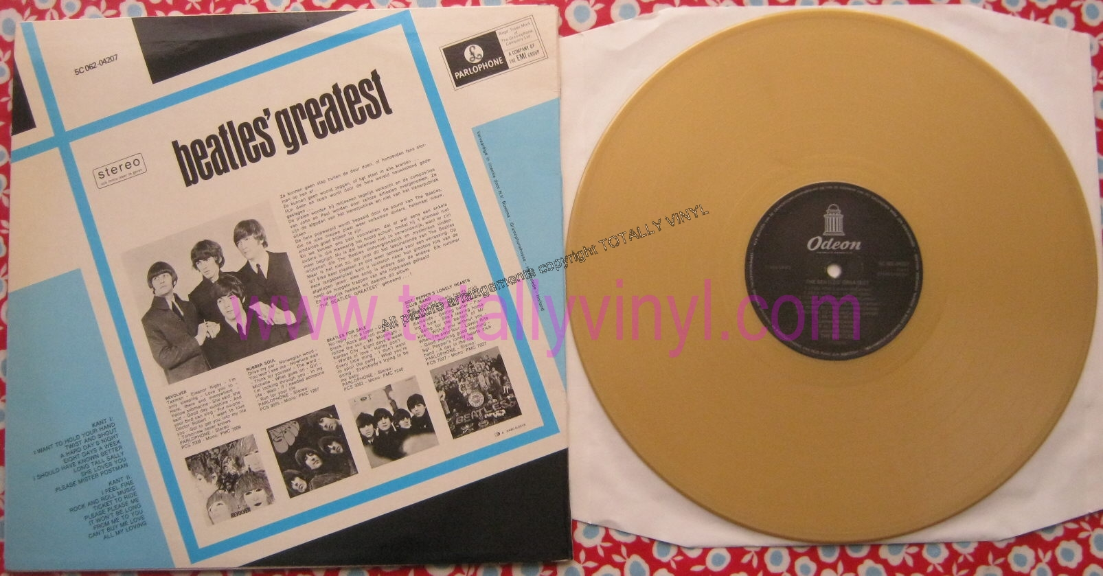 Totally Vinyl Records Beatles The Beatles Greatest