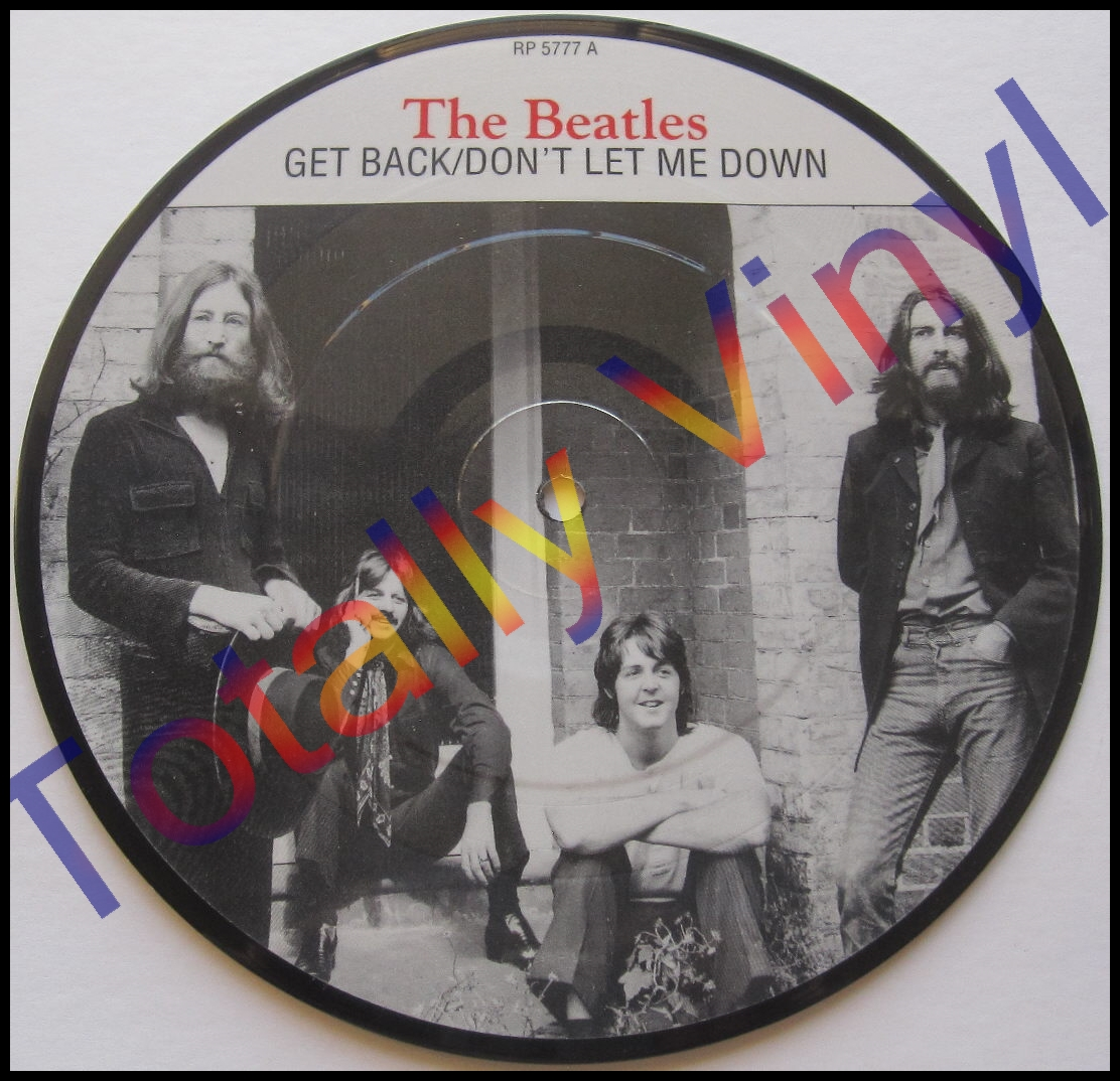 Totally Vinyl Records Beatles The Get Back 7 Inch
