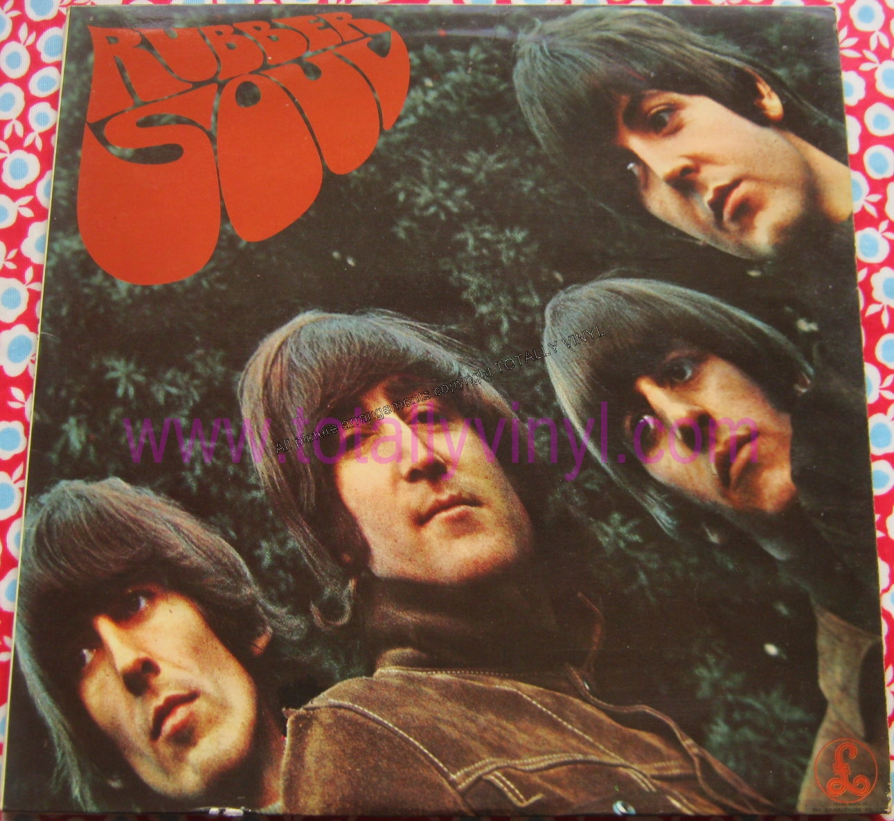 Totally Vinyl Records Beatles The Rubber Soul Lp